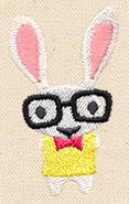 Hipster Bunny_image