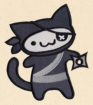 Adorable Adventure - Ninja Kitty_image