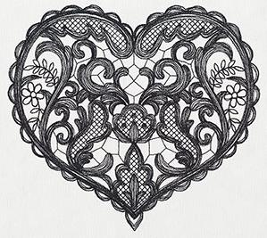 Delicate Lacy Heart_image