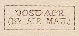 Passport to Ireland - By Air Mail Stamp_image