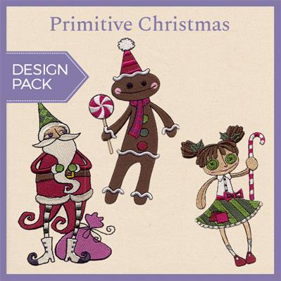 Primitive Christmas (Design Pack)_image