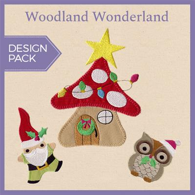 Woodland Wonderland (Applique) (Design Pack)_image