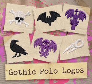 Gothic Polo Logos (Design Pack)_image