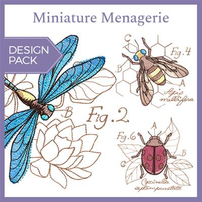 Miniature Menagerie (Design Pack)_image
