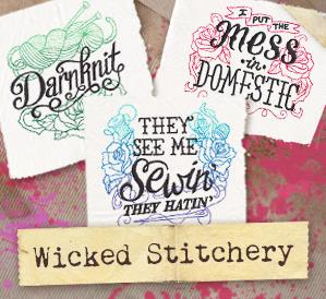 Wicked Stitchery (Design Pack)_image