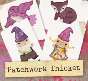Patchwork Thicket (Applique) (Design Pack)_image