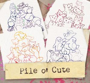 Pile o' Cute (Design Pack)_image