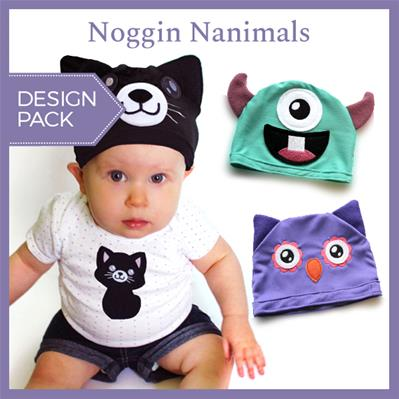 Noggin Nanimals (Applique) (Design Pack)_image