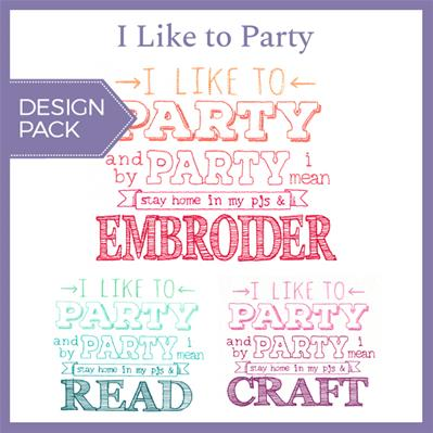 I Like to Party (Design Pack)_image