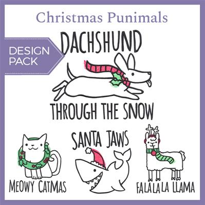 Christmas Punimals (Design Pack)_image