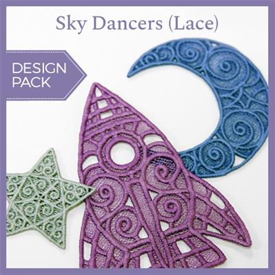 Sky Dancers (Lace) (Design Pack)_image