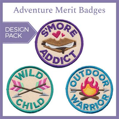 Adventure Merit Badges (Patch) (Design Pack)_image
