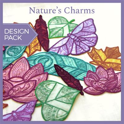 Nature's Charms (Freestanding Organza) (Design Pack)_image