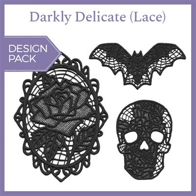 Darkly Delicate (Lace) (Design Pack)_image