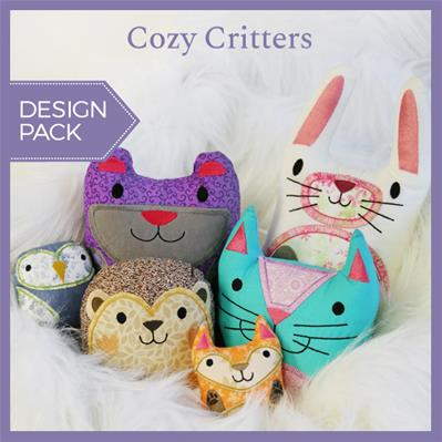 Cozy Critters (Stuffed) (Design Pack)_image