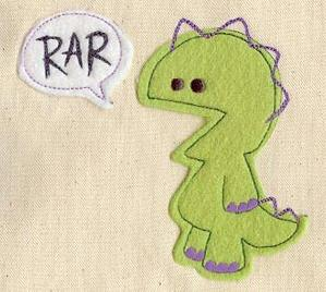 Monster Speaks (Applique)_image