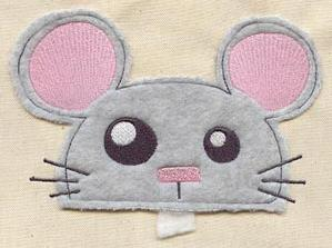 Cutting Edge Mouse (Applique)_image