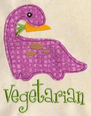Vegesaurus (Applique)_image