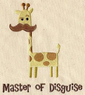 Master of Disguise (Applique)_image