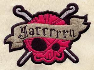 Yarrrrrn - Crochet (Patch)_image