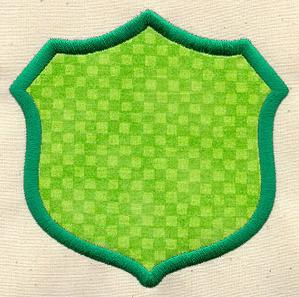 Patch Border - Shield_image