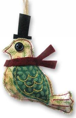 Dapper Bird (Stuffed)_image