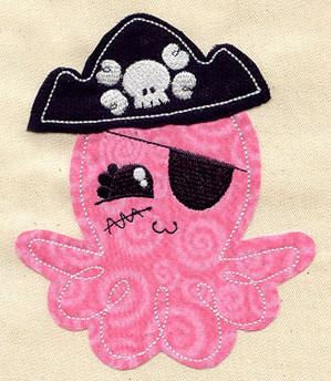Octo-Pirate (Applique)_image