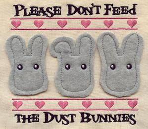 Dust Bunnies (Applique)_image