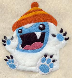 Fluffy Yeti (Applique)_image