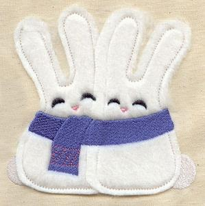 Snuggle Bunnies (Applique)_image