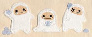 Abominable Snowball Fight (Applique)_image
