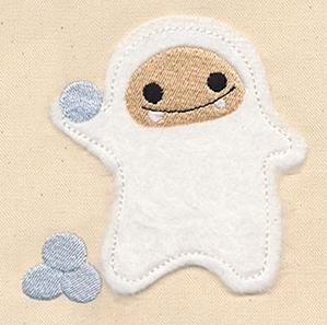Abominable Snowman 1 (Applique)_image