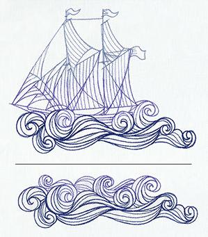 Ship and Waves (Split)_image