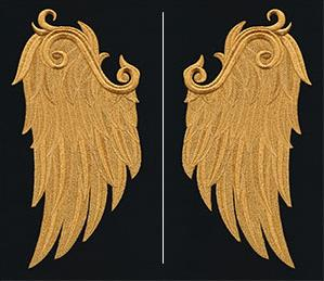 Gilded Heraldry - Mythic Wings (Wing Pair)_image