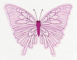 Diaphanous Butterfly (Applique)_image