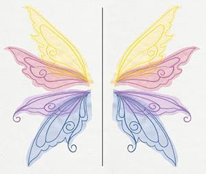 Sheer Magic Wings (Applique)_image