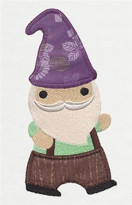 Patchwork Thicket - Mr. Gnome (Applique)_image