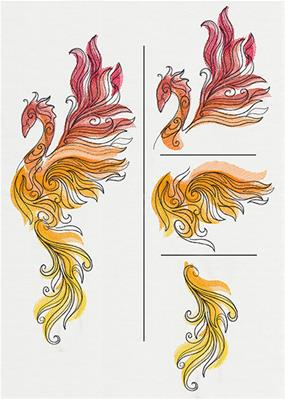 Raised Phoenix (Split)_image