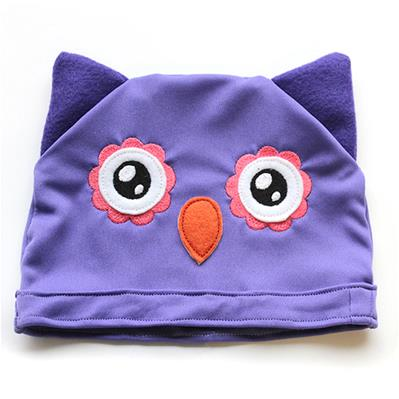 Noggin Nanimals - Owl Face (Applique) (Split)_image