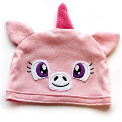 Noggin Nanimals - Unicorn Face (Applique) (Split)_image