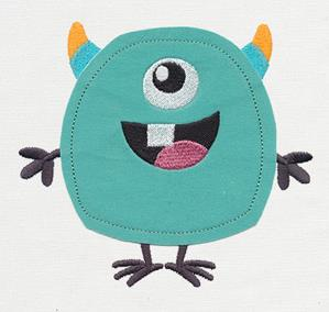 Noggin Nanimals - Monster (Applique)_image