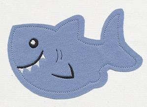 Noggin Nanimals - Shark (Applique)_image