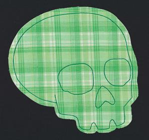 Flash Stitch - Skull (Applique)_image