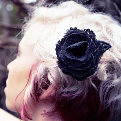 Dark Adornments - Flower (Lace)_image