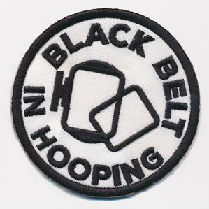 Crafty Merit Badges - Black Belt (Patch)_image