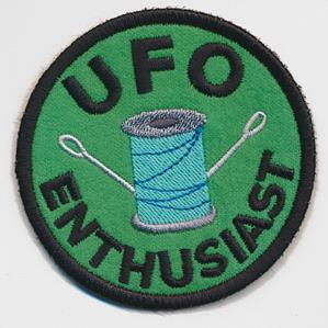 Crafty Merit Badges - U.F.O. (Patch)_image