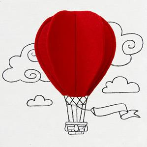 Ballooning (3D Applique)_image