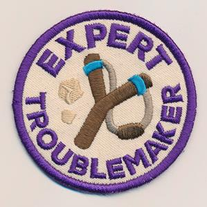 Adventure Merit Badges - Troublemaker (Patch)_image