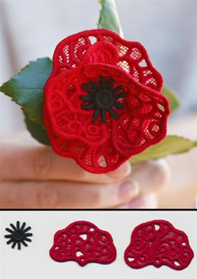 Blooming Poppy (Lace)_image