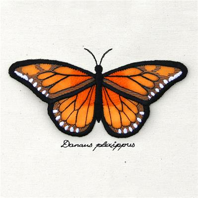 Winged Curiosities - Monarch (3D Applique)_image